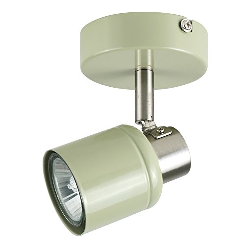 modern-single-ceiling-wall-spotlight-in-a-gloss-sage-green-and-brushed-chrome-finish