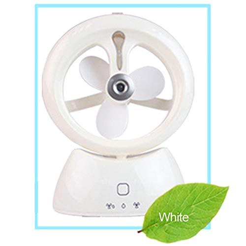@W.H.Y Ventilador eléctrico Recargable del rociador de Agua del Mini Ventilador del...