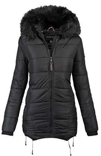Navahoo Damen Winter Jacke warm gefüttert Stepp Winterjacke B364