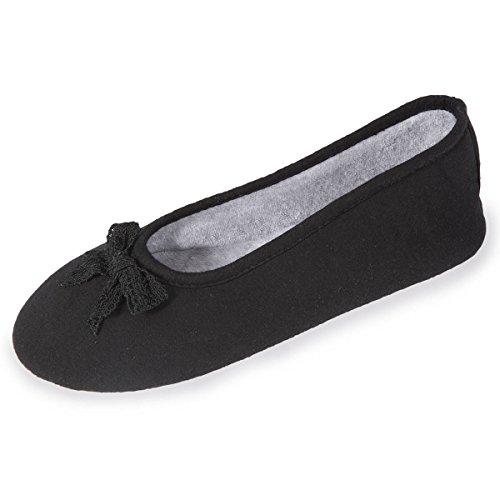 chaussons-well-ballerines-femme-nud-dentelle-isotoner-35-36