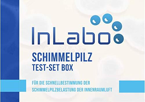Original InLabo Schimmelpilz Schnelltest - Der Schimmeltest für zu Hause für bis zu 5 Räume