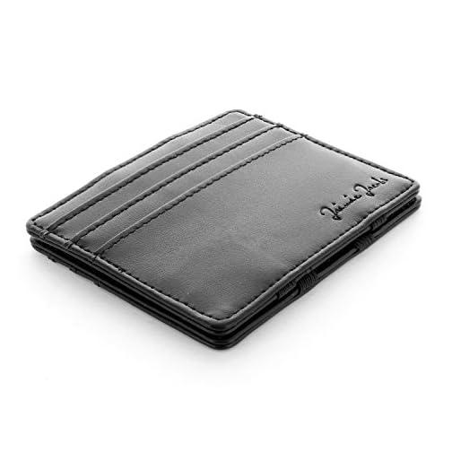 design di qualità c6310 abc33 JAIMIE JACOBS Portafoglio Magico, Magic Wallet Flap Boy Slim - l'Originale  - Protezione RFID, Portafoglio Uomo Piccolo, Porta Carte di Credito ...
