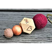 Geburt // Taufe // Geburtsgeschenk // Taufgeschenk //Geschenk Oma Großmutter // Weihnachtsgeschenk // Schlüsselanhänger