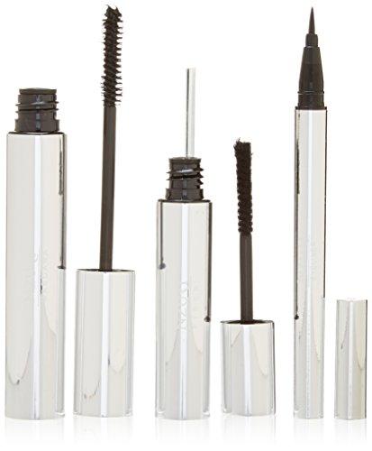 Mascara 3D mit Fibre-Gel Eyeliner Pencil-- Premium-Formel mit der höchsten Qualität nicht-toxischen und hypoallergen natürlichen Zutaten - Unsere besten zusammen mit Faser-Wimperntusche 3d -