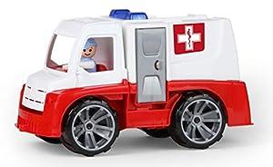 Lena TRUXX 04446 vehículo de Juguete - Vehículos de Juguete (Rojo, Blanco, Camión, De plástico, Ambulance, Interior / Exterior, 2 año(s))