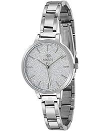 Amazon.es  Plateado - Relojes de pulsera   Mujer  Relojes 428399566875