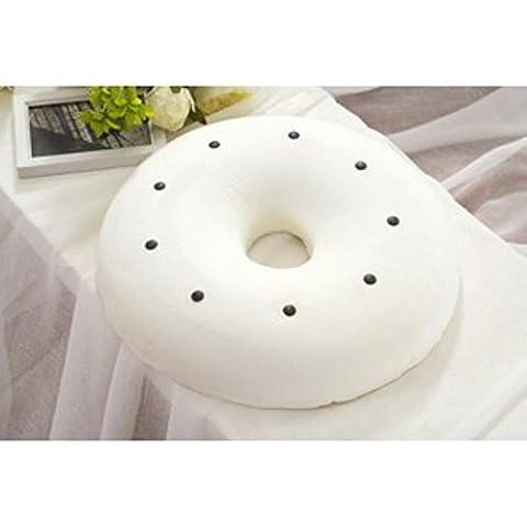 LY&HYL Bello fondo tampone lento terapia magnetica salute rimbalzo cuscino emorroidi Cuscino Cuscino rotondo , white
