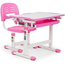 oneconcept annika juego escritorio infantil u mesa y silla para nios u ergonmico set u para