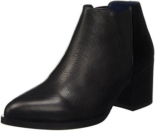 Sa21087g12tr, Chaussures avec Talon et Plateforme Femme - Noir, 35 EUPollini