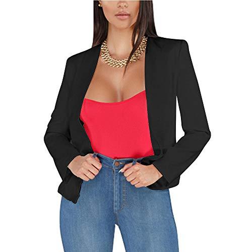 2019 Herbst Frauen Blazer Und Jacken Arbeit Büro Dame Anzug Beiläufige Dünne One Button Business Weibliche Blazer Mantel Weiß Schwarz 100% Garantie Blazer