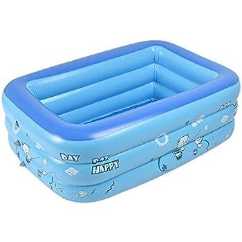 Aolvo Aufblasbares Schwimmbecken für Kinder Baby, Family