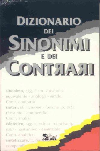 Dizionario sinonimi e contrari