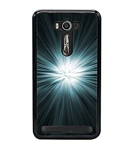 Bright Light 2D Hard Polycarbonate Designer Back Case Cover for Asus Zenfone 2 Laser ZE550KL (5.5 INCHES)