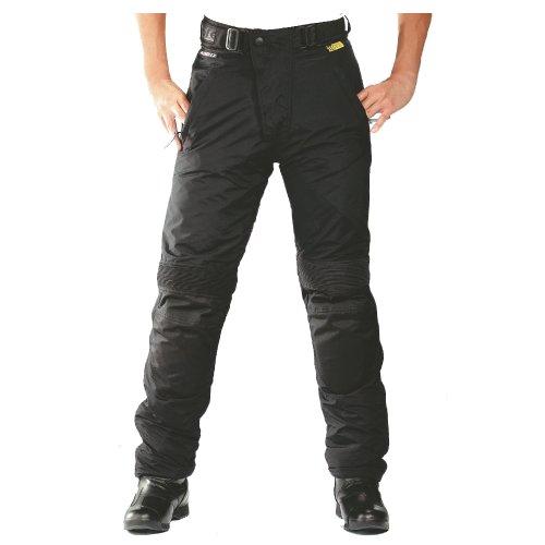 *Roleff Racewear Motorradhose Textil/Taslan, Schwarz , S*