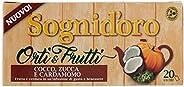 Sogni Doro Tisana Orti&Frutti Cocco, Zucca e Cardamomo 20 Filtri - 5