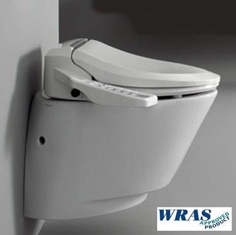 Wand-wc Komplettanlage Heimwerker Realistisch Vitra V-care Comfort Spülrandloses Dusch-wc