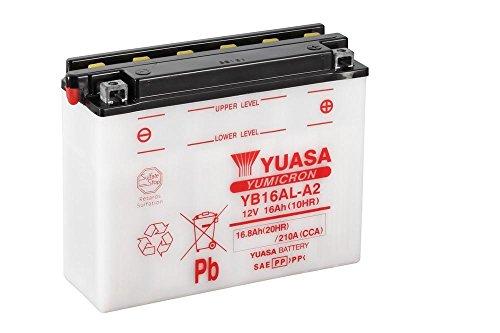 Batteria YUASA yb16al A2, 12V/16ah (dimensioni: 207X 72X 164) per Ducati 600Monster/Dark anno di costruzione 1998
