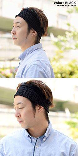 Casualbox Femmes hommes Engrener bandeau cheveux bande Japonais mode Ivoire