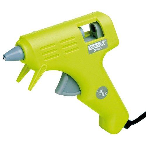 Rapid, 24772100, Pistolet à colle de loisir 8W, Pour le bricolage et l'artisanat, Bâtons de colle Ø7mm, G1010