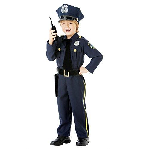 Verkleidung Kostüme ... Fasching Polizei Police Officer 4 - 6 Jahre