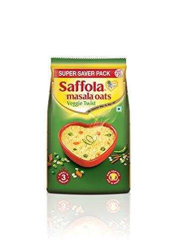 Saffola Masala Oats Veggie Twist - 400gm Pouch