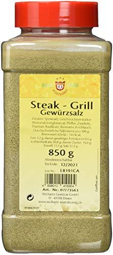 Wichartz Würzkönig Steak-Grill Gewürzsalz, 3er Pack (3 x 850 g)