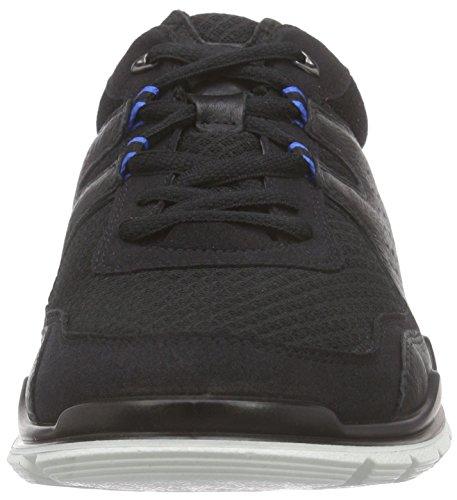 Ecco  ECCO LYNX, Chaussures Multisport Indoor homme Noir - Schwarz (BLACK/BLACK51707)