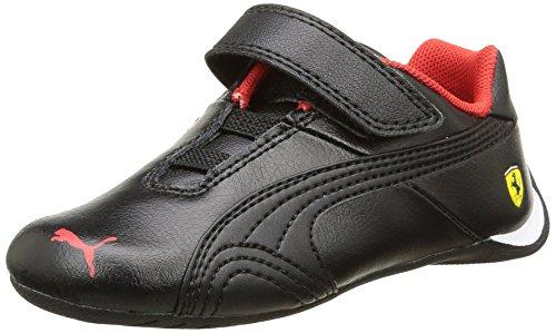 Puma Future Cat Sf, Baskets Basses mixte enfant Noir (Black/Black)