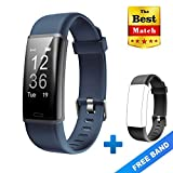 Best Gps Wristbands - Lintelek Fitness Tracker, Customized Activity GPS Tracker, Grey Review