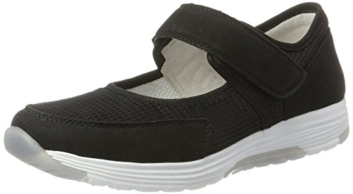Gabor Rollingsoft, Sneakers Basses Femme Noir (schwarz 47)