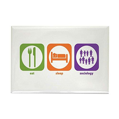 CafePress–Eat Sleep Soziologie–Rechteck Magnet, 5,1x 7,6cm Kühlschrank Magnet