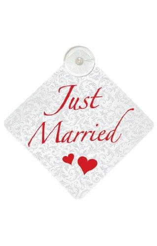 Trend Import 10603300 Just Married Schild