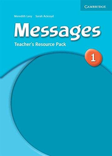 Messages 1 Teacher's Resource Pack