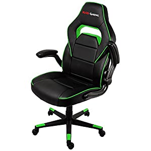 Mars Gaming Silla Profesional, Verde