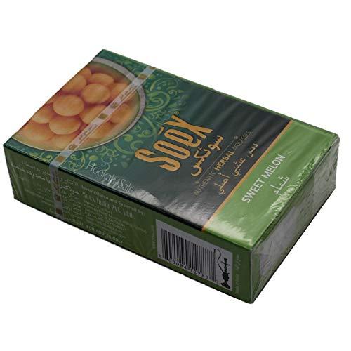 50 gr de hierbas Soex MELÓN Dulce Melaza Shisha de la cachimba pipa Narguile