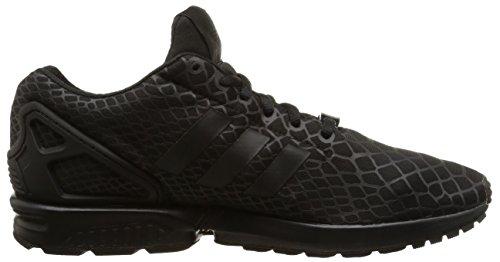 adidas ZX Flux Techfit Scarpe Sportive, Uomo Core Black/Core Black/Super Yellow F15