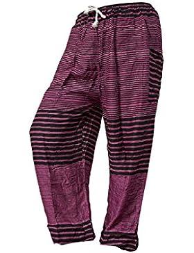 Pantalones holgados con cierre d