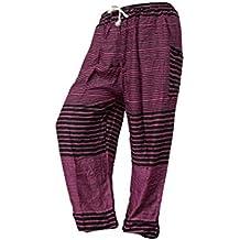 Pantalones holgados con cierre de cuerda amplios MUCHOS DISEÑOS ropa cómoda informal festival yoga pijama pantalones