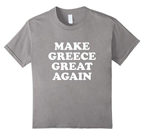 Griechenland Tolles wieder Donald Trump Parodie T-Shirt Gr. Kinder, Größe 140, slate - T-shirts Griechenland Kinder