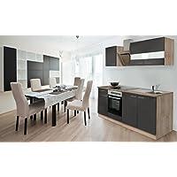 suchergebnis auf f r 210 cm k chenzeilen k che k che haushalt wohnen. Black Bedroom Furniture Sets. Home Design Ideas