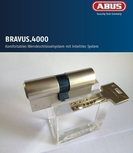 ABUS Bravus4000 Hochsicherheits-Schließzylinder Doppelzylinder 40//60mm