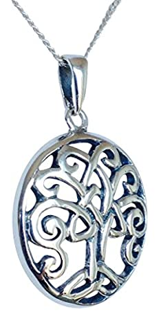 Sterling Silver Tree of Life Necklace - Gift