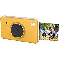 Kodak Mini SHOT 2 in 1 Instant Print Digital Camera 2x3 prints w/4PASS Patented Printing Technology (Yellow)
