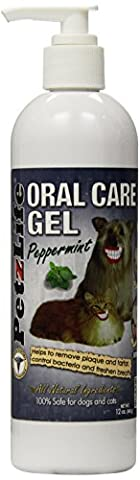 PetzLife Peppermint Oral Care Gel, 12-Ounce by PetzLife