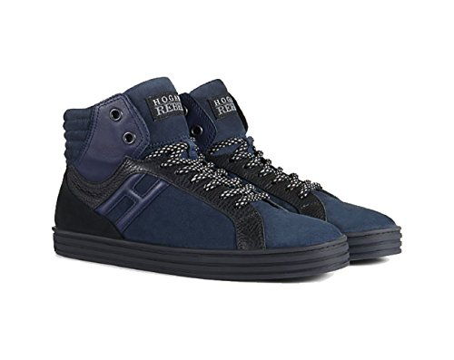 Sneaker Hogan Rebel Nero Blu