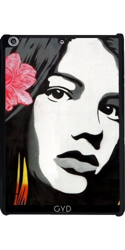 Custodia per Apple Ipad Mini Retina 2/3 - Street Art Graffiti Ragazza Uccelli by Petra