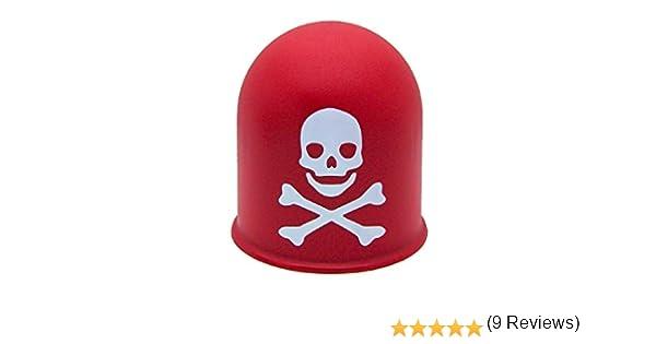 10 x AHK kapppe Gancio di Traino Cappuccio Protezione copertura protezione Rosso