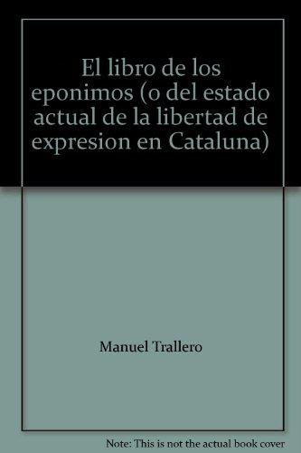 Libro de los eponimos, el por Manuel Trallero