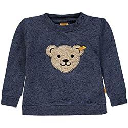 Steiff Baby-Jungen Sweatshirt 1/1 Arm, Grau (original|Multicolored 0004), 62