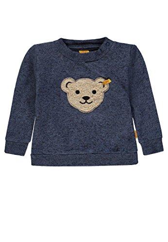 Steiff Baby-Jungen Sweatshirt 1/1 Arm, Grau (original Multicolored 0004), 86